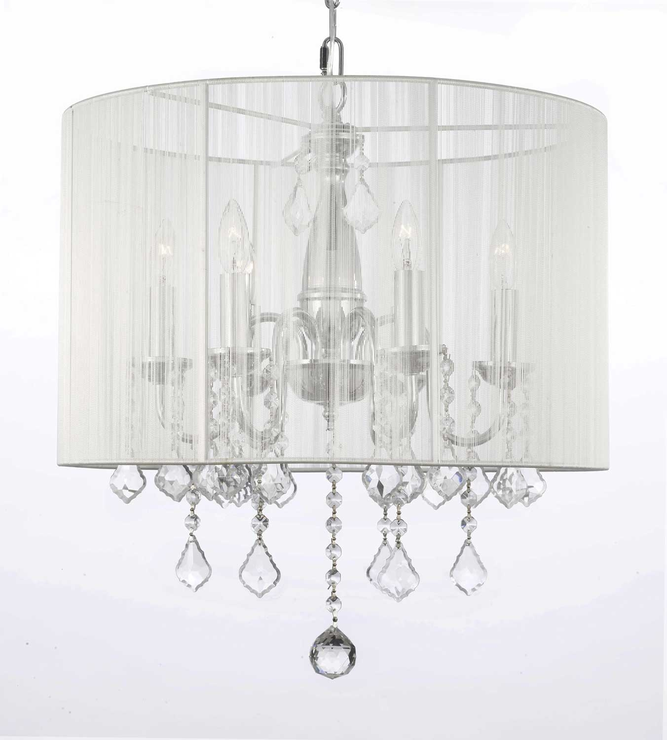 Featured Image of Crystal Chandeliers With Shades