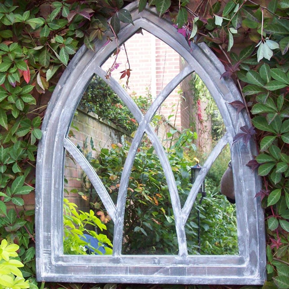 Garden Decor Pertaining To Gothic Garden Mirrors (Image 9 of 20)