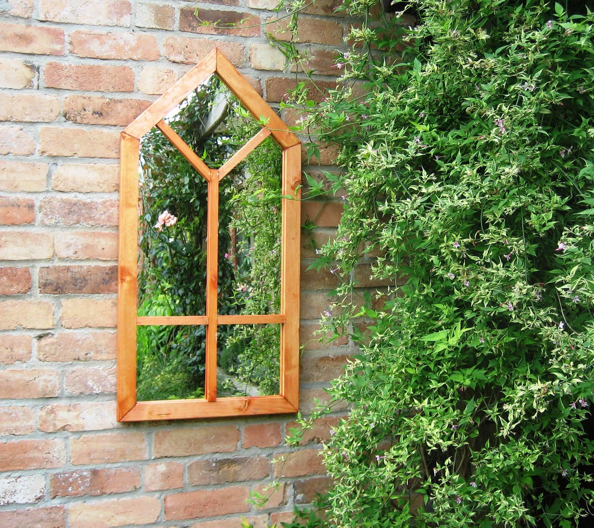 Garden Mirrors | Parallax Plastics Pertaining To Gothic Garden Mirrors (Image 10 of 20)