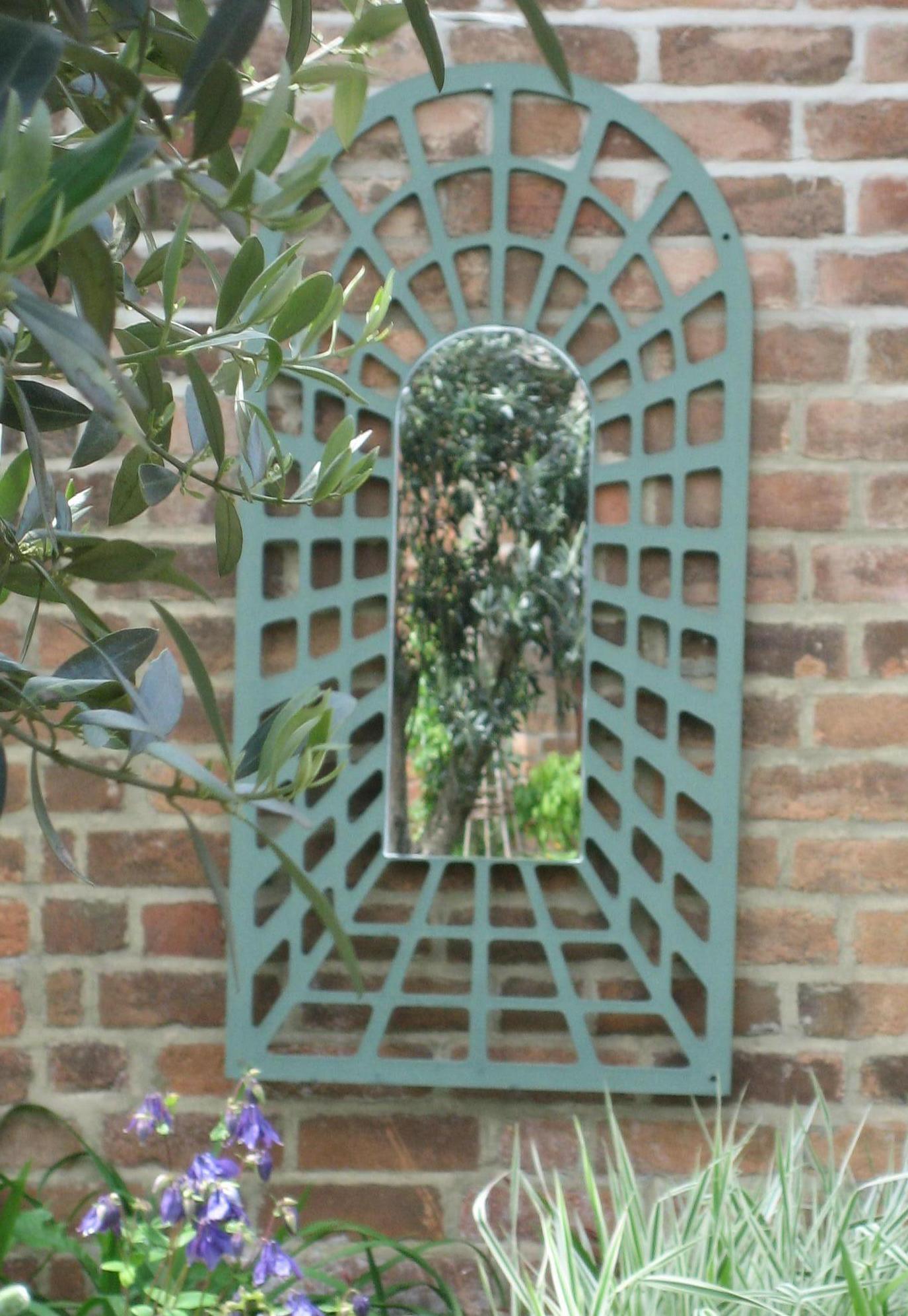 Garden Mirrors | Parallax Plastics With Large Garden Mirrors (View 20 of 20)