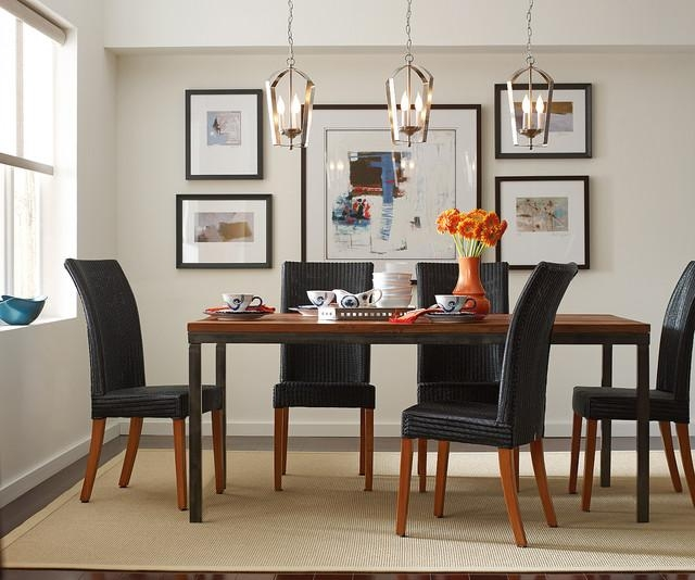Gather Pendants Over Dining Room Table – Contemporary – Dining Pertaining To Lamp Over Dining Tables (Image 13 of 20)
