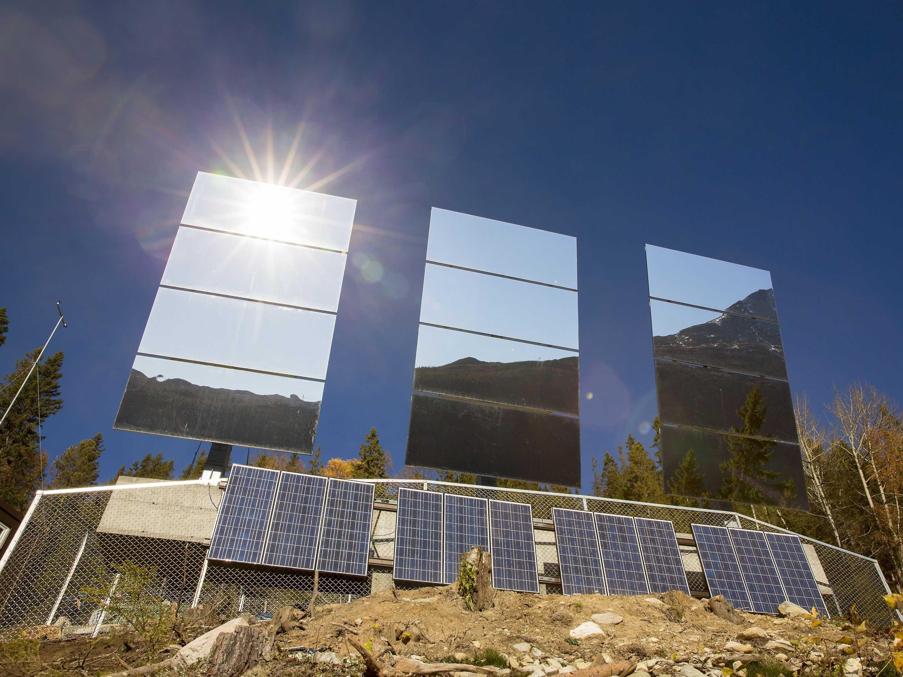 Giant Mirrors Installed On Norway Mountainside – Business Insider With Regard To Massive Mirrors (Image 17 of 20)