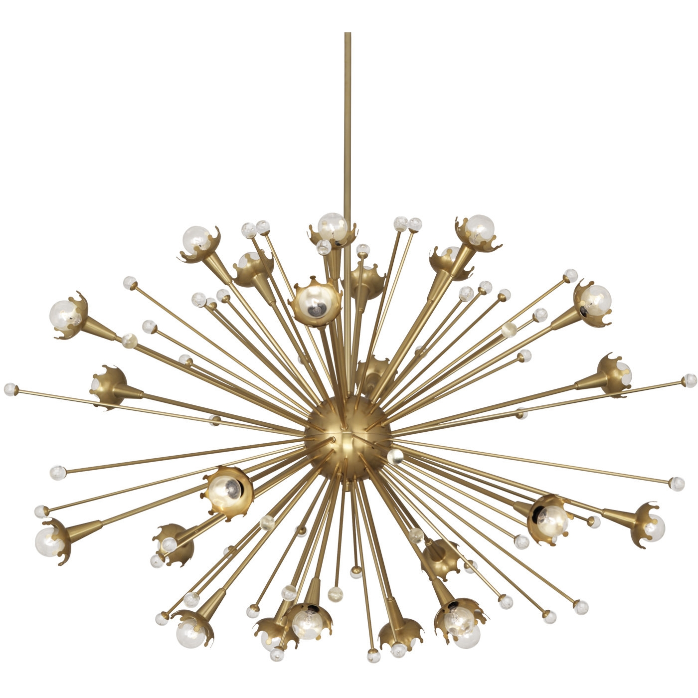Giant Sputnik Chandelier Modern Lighting Jonathan Adler Throughout Mini Sputnik Chandeliers (Image 10 of 25)