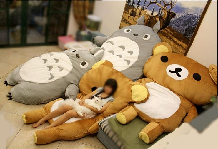 Giant Teddy Bear Bed Sleeping Bag – Famous Bear 2017 Pertaining To Sleeping Bag Sofas (Image 8 of 20)
