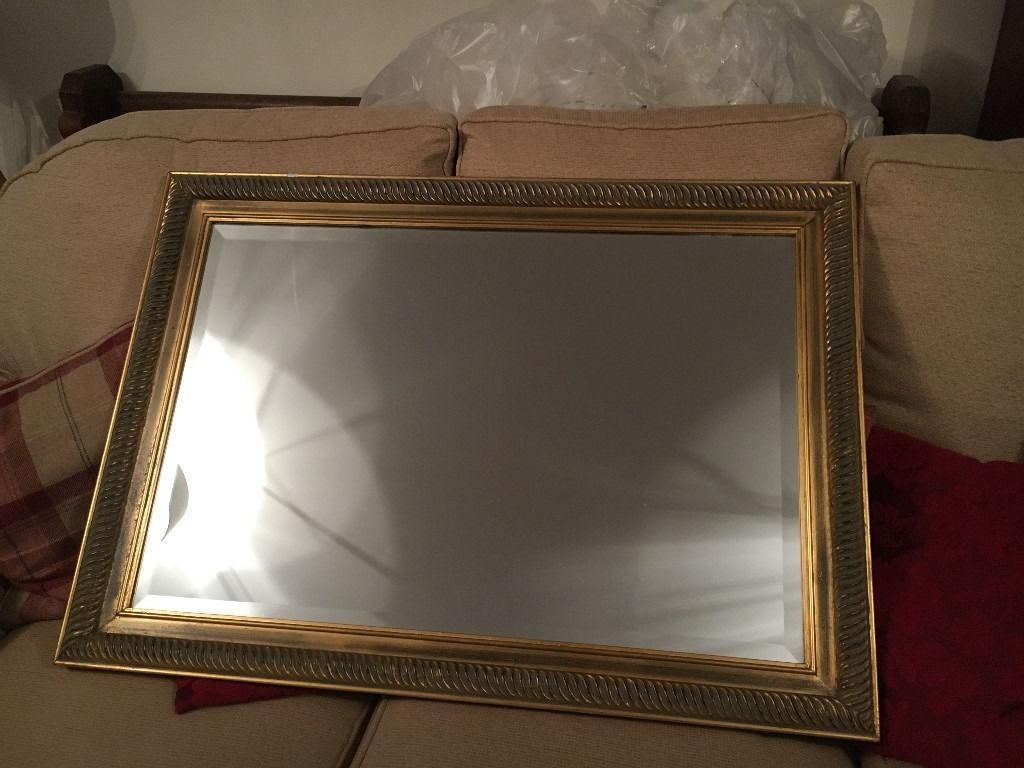 Gilt Edged Large Mirror | In Caversham, Berkshire | Gumtree In Gilt Edged Mirror (Image 11 of 20)