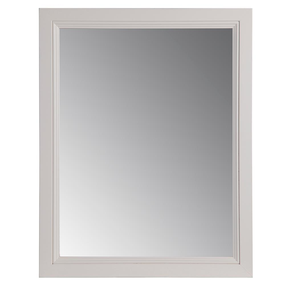 Glacier Bay Valencia 21.85 In. X 27.4 In. Single Framed Wall For Cream Mirrors (Photo 2 of 20)