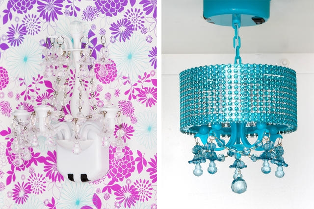 Glam It Up Girly Container Stories Pertaining To Turquoise Locker Chandeliers (Image 13 of 25)