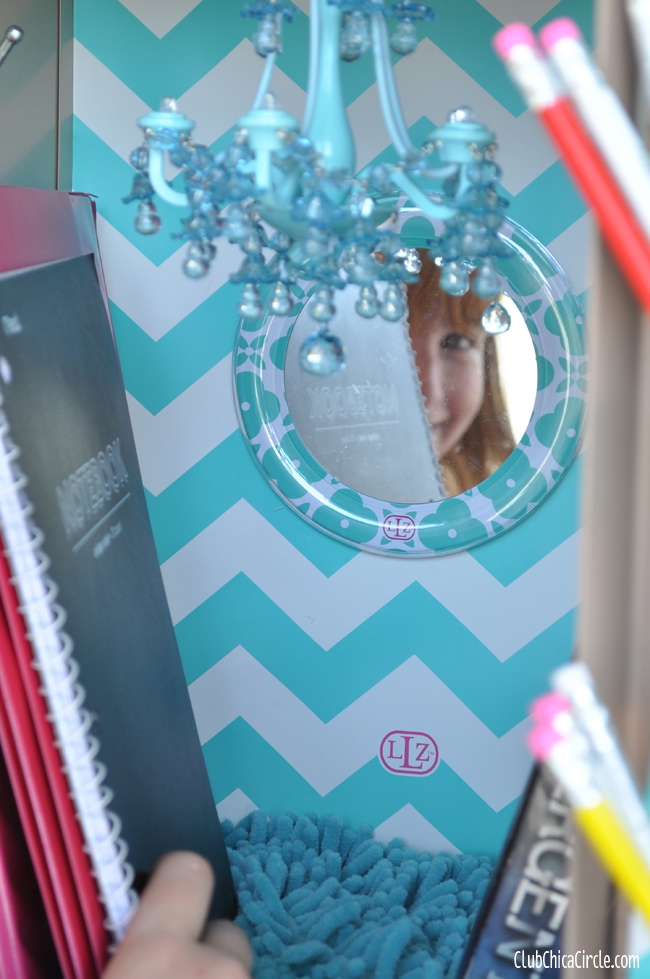 Glam Up Your Locker With Llz Lockerlookz Club Chica Circle Intended For Turquoise Locker Chandeliers (Image 14 of 25)