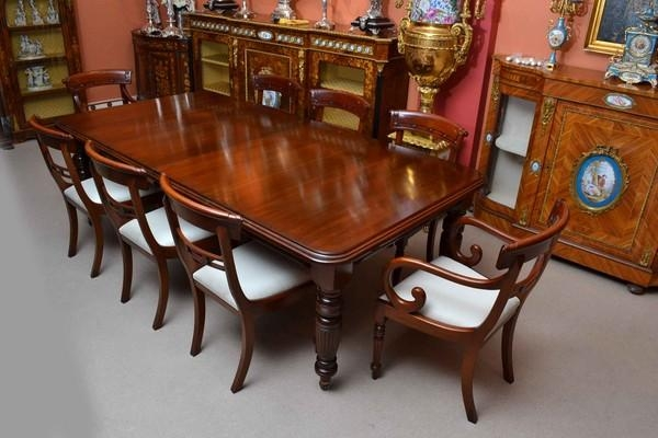 Glamorous Mahogany Dining Table And Chairs Tn Chair | Ciov For Mahogany Dining Table Sets (Image 9 of 20)