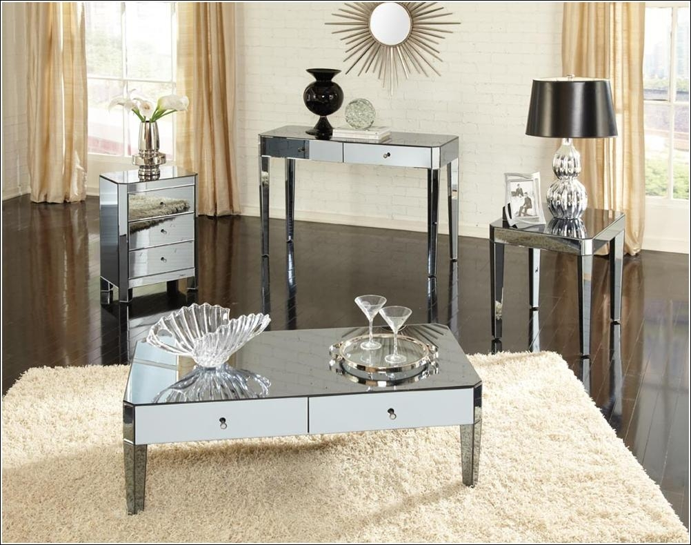 Glamorous Mirrored Furniture For Your Home! Inside Mirrored Furniture (Image 10 of 20)