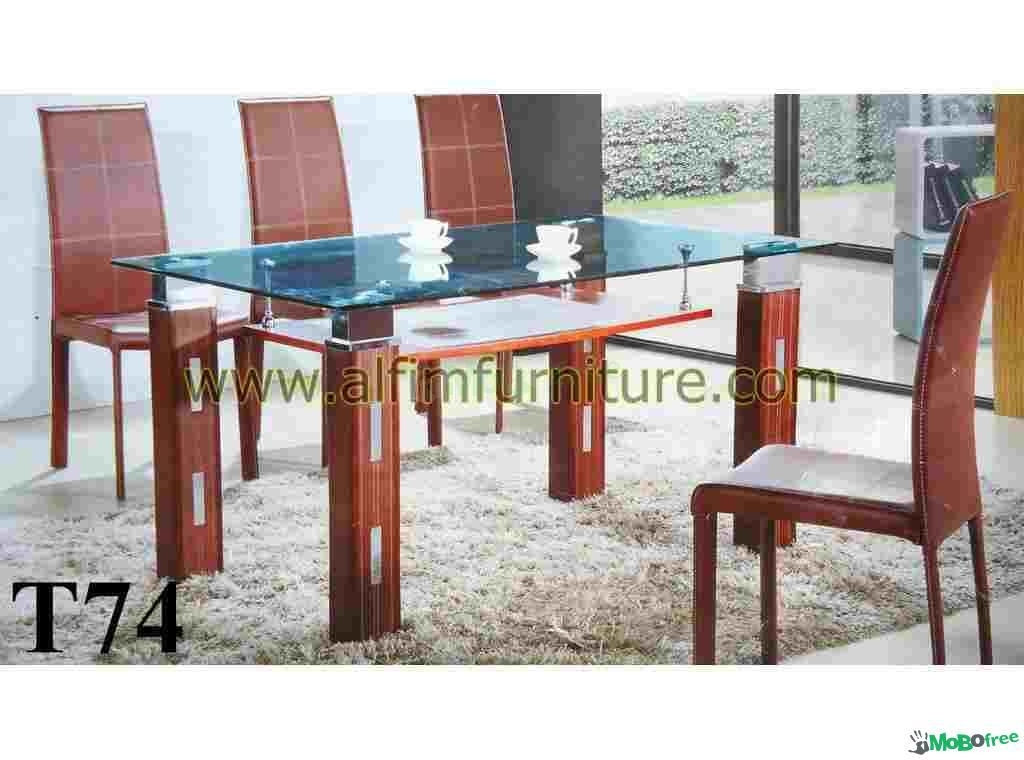 Glass And Wood Dining Table – Destroybmx Pertaining To Glass Dining Tables With Wooden Legs (Image 8 of 20)
