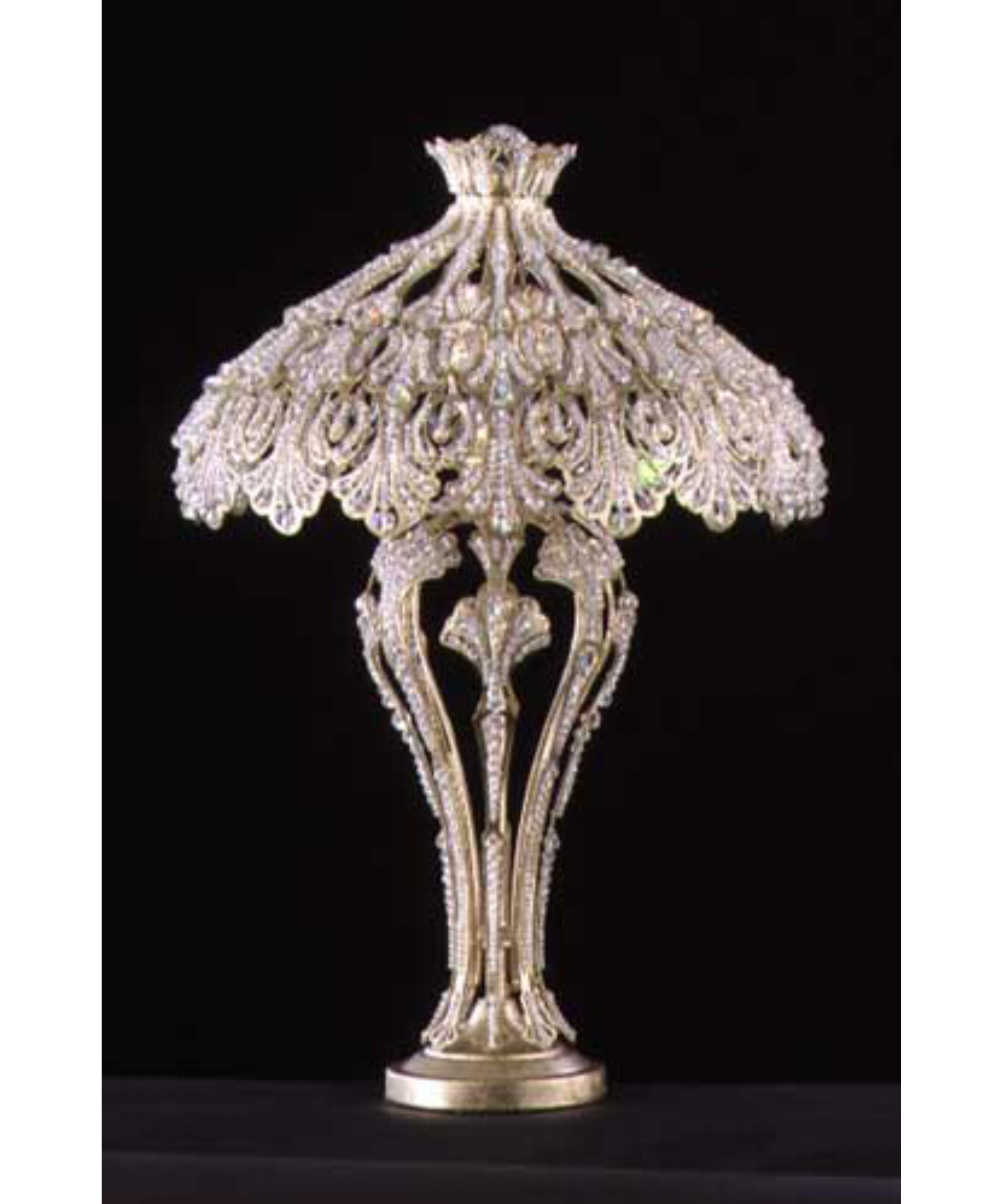 Glass Chandelier Table Lamp Best Of Table Lamp Inspiration Pertaining To Small Crystal Chandelier Table Lamps (Image 13 of 25)