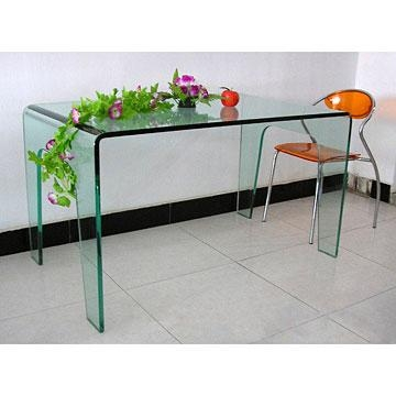 Glass Dining Table In Curved Glass Dining Tables (Image 16 of 20)