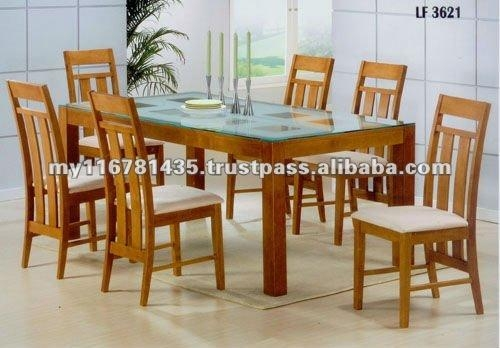 Glass Dining Tables Art Galleries In Wood And Glass Dining Table In Wood Glass Dining Tables (Image 13 of 20)