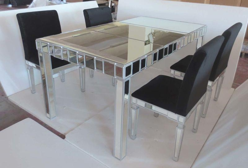 Featured Image of Mirror Glass Dining Tables