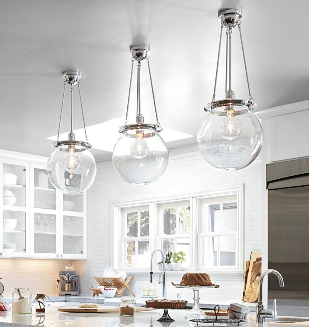 Glass Pendant Lights Inside Chrome And Glass Chandeliers (Image 18 of 25)
