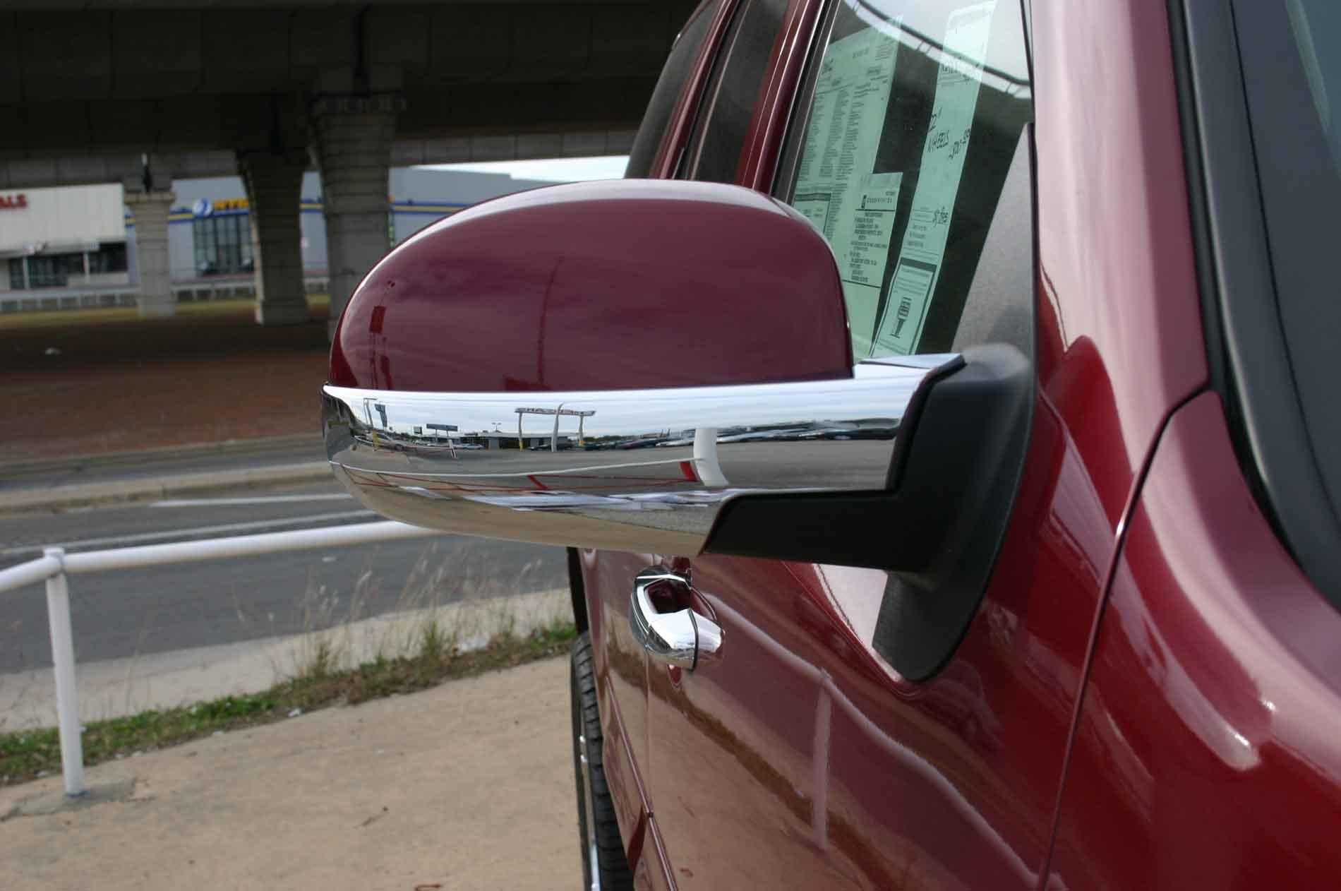 Gmc Sierra Chrome Door Handle / Mirror Cover Trim Package Throughout Chrome Mirrors (Image 13 of 20)