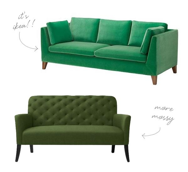 Go For The Green Sofa (Image 11 of 20)