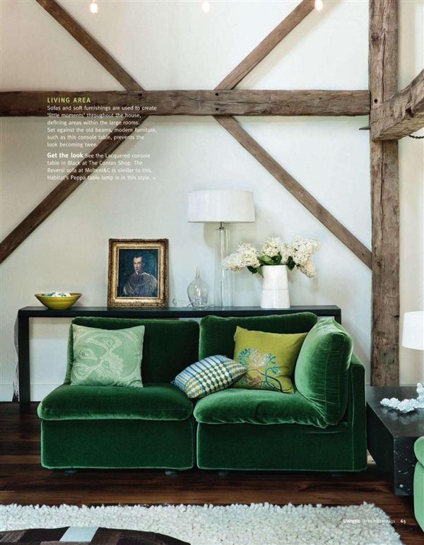 Go For The Green Sofa (Image 12 of 20)