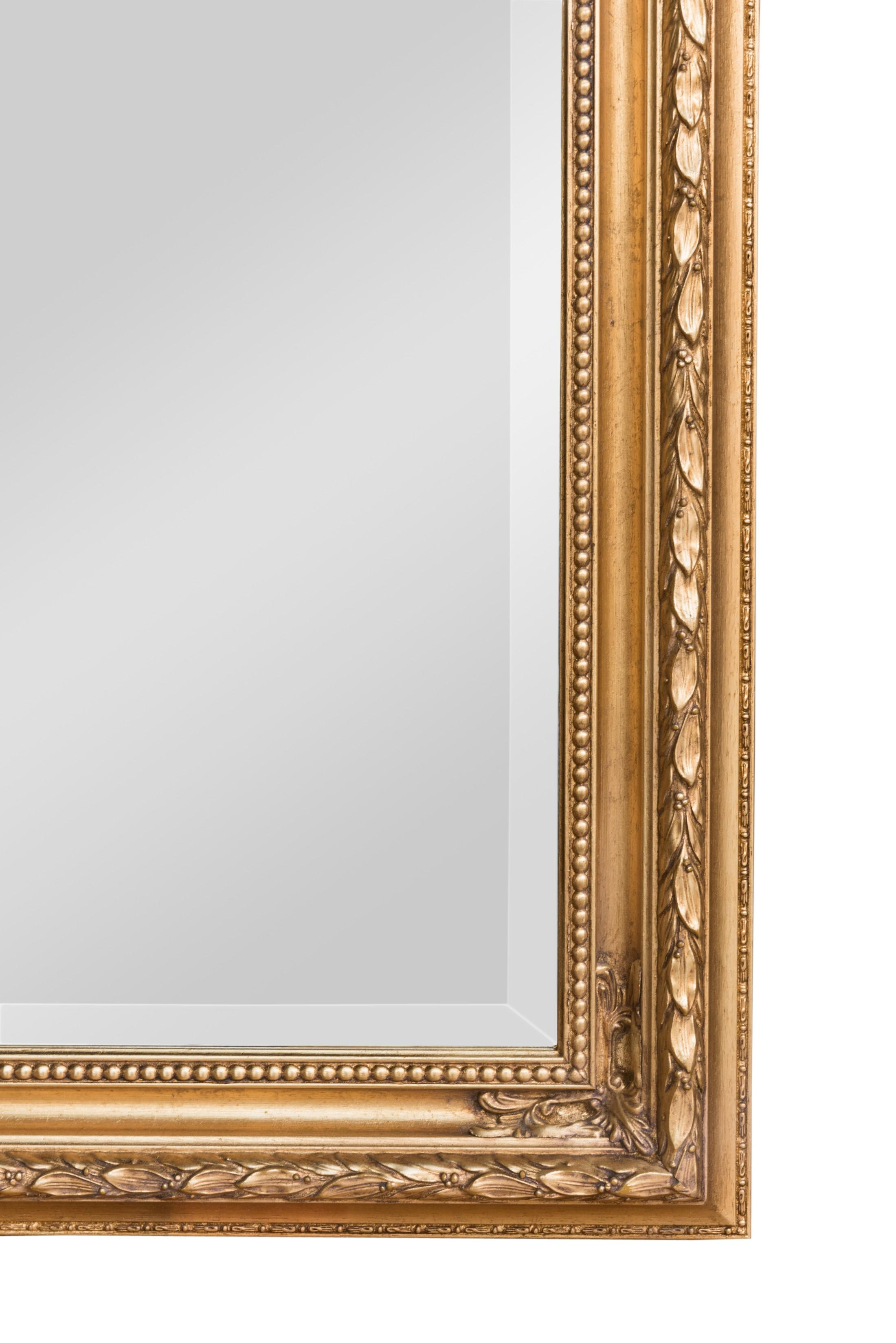 Gold Baroque Mirror | Bedroom Mirrors For Sale – Panfili Mirrors Throughout Gold Baroque Mirror (Image 17 of 20)