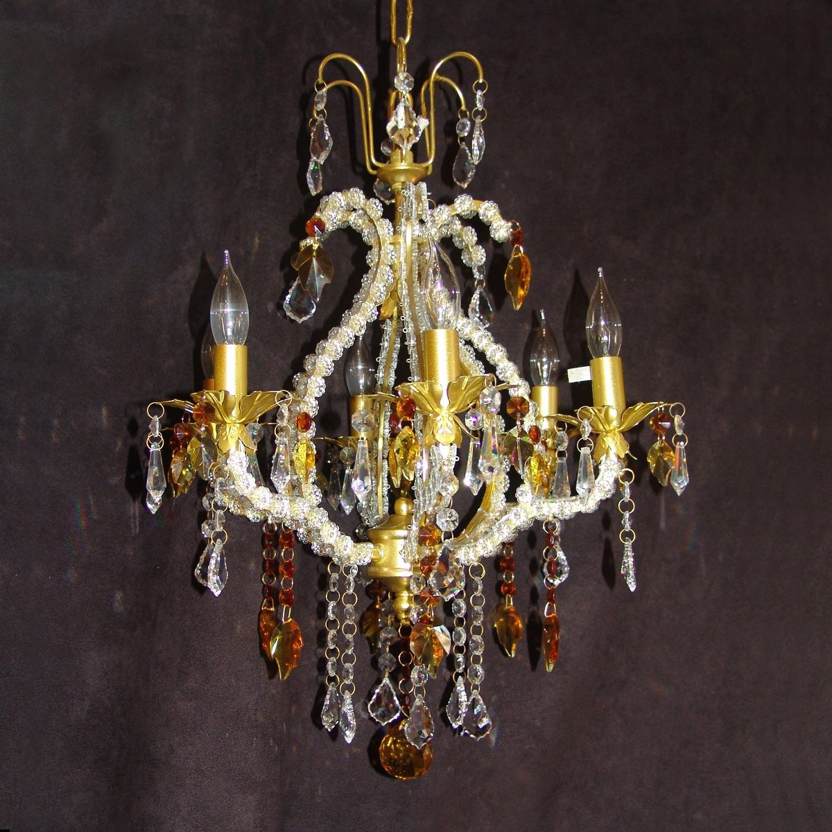 Gold Chandeliers For Bedrooms Chandeliers Bronze Chandelier Throughout Crystal Gold Chandeliers (Image 13 of 25)