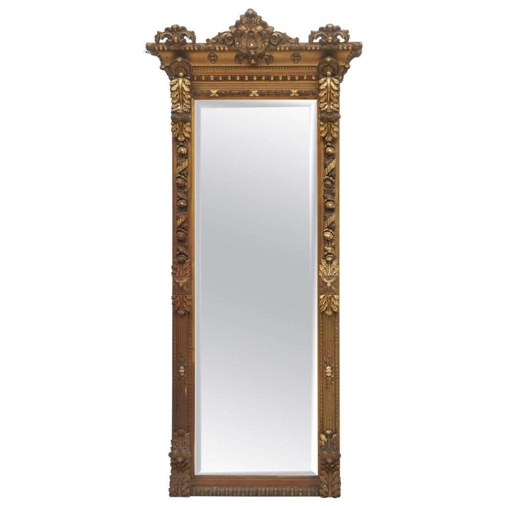 Gold Floor Mirror Houses Flooring Picture Ideas – Blogule With Regard To Antique Long Mirror (Image 15 of 20)