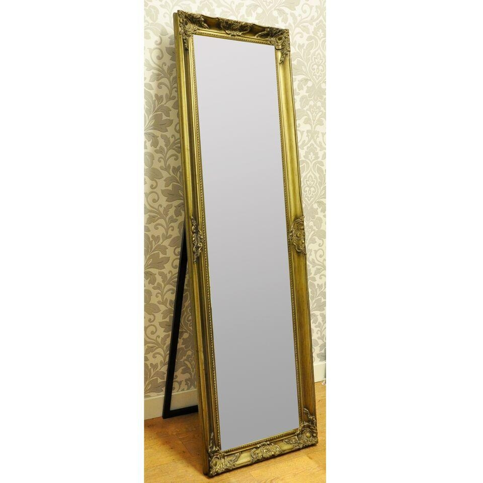 Gold Full Length Mirror – Harpsounds (Image 14 of 20)