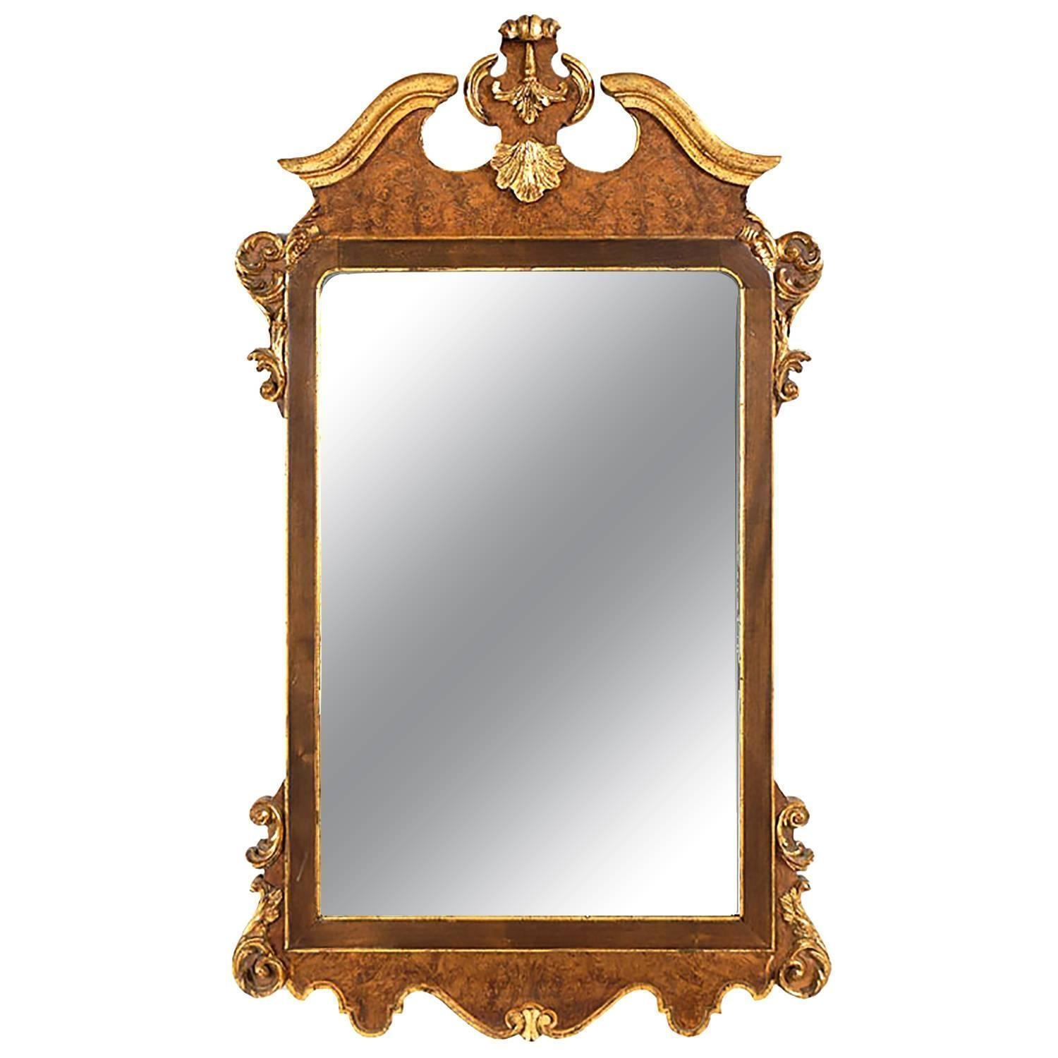 Gold Gilt Italian Mirror Attributed To La Barge For Sale At 1Stdibs Inside Gold Gilt Mirror (Image 8 of 20)