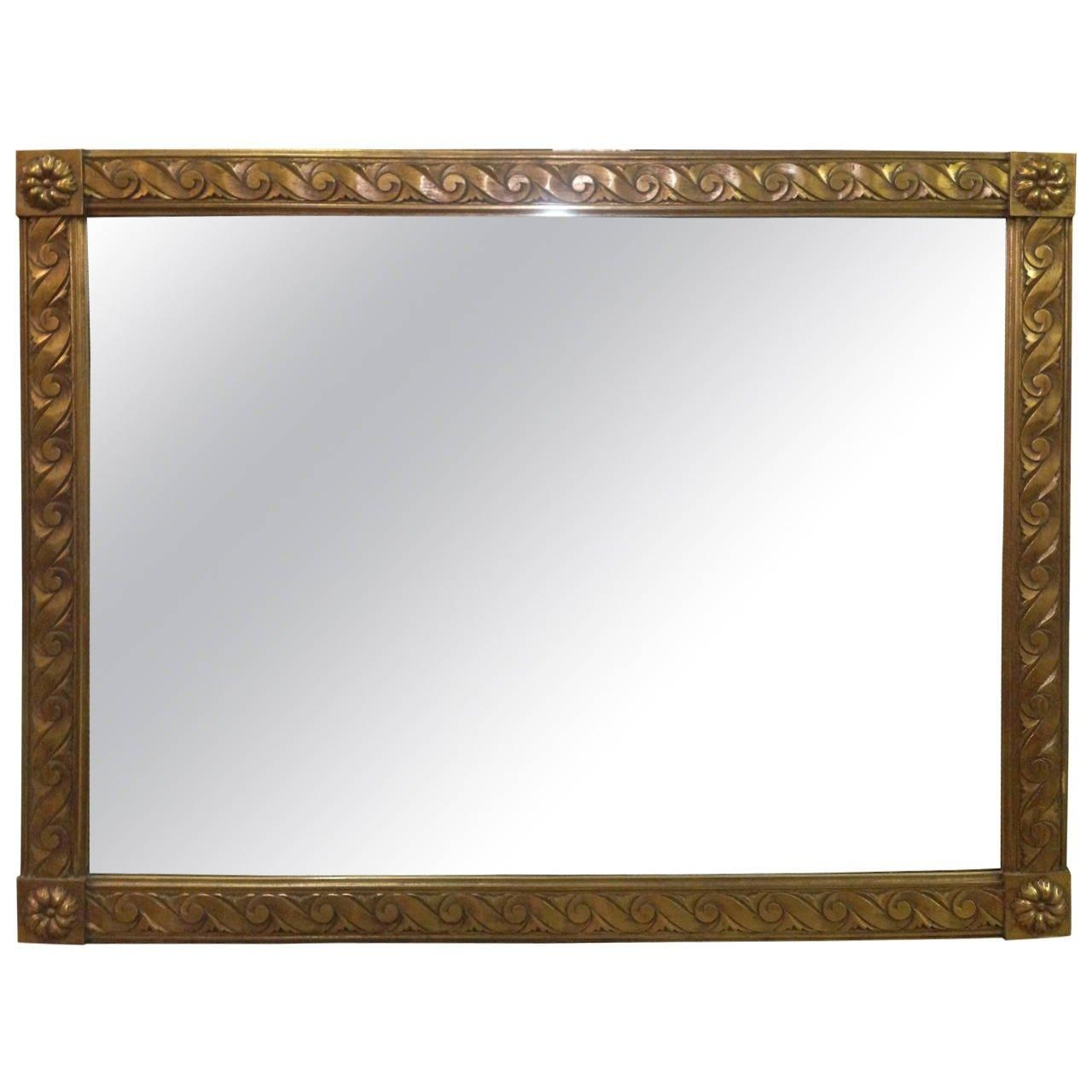 Featured Image of Gold Gilt Mirror
