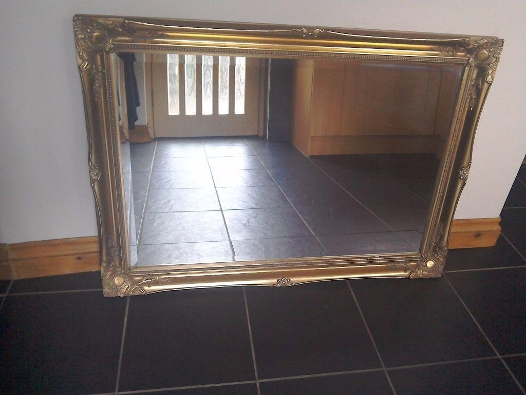 Gold Mirror Gilt Edged | In Broughty Ferry, Dundee | Gumtree In Gilt Edged Mirror (Image 13 of 20)