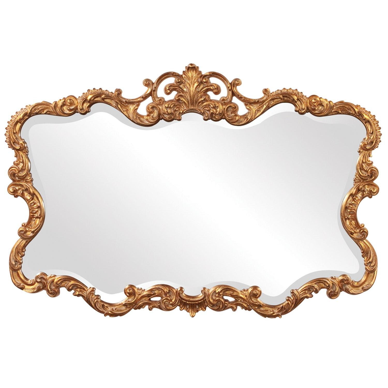 Gold Mirrors | Bellacor For Vintage Gold Mirrors (Image 10 of 20)