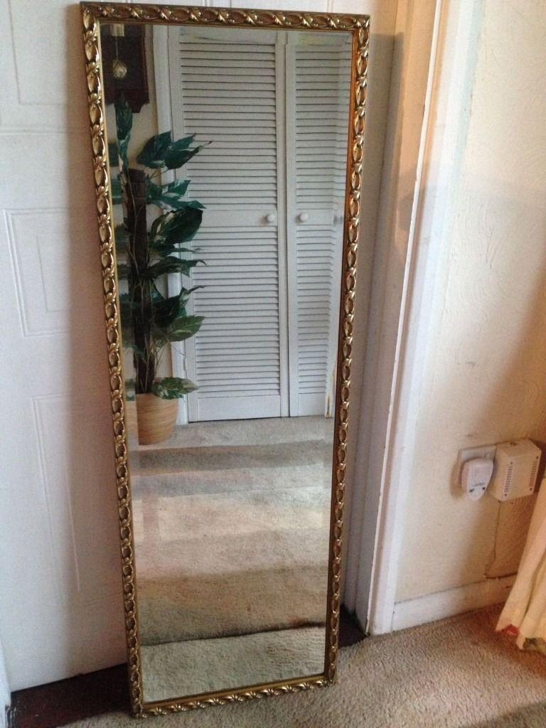 Gold Ornate Full Length Wall Mirror (Image 14 of 20)