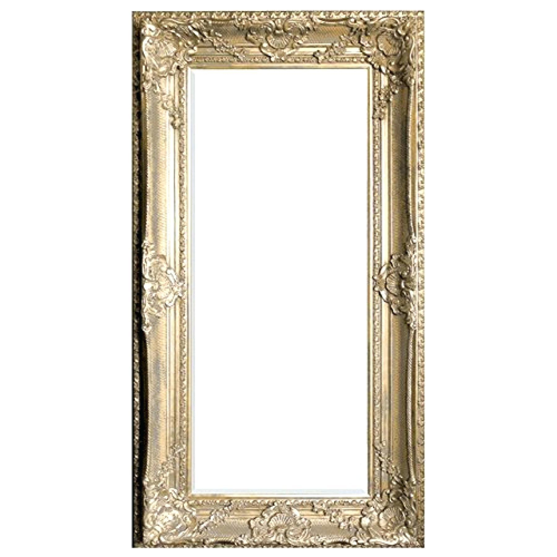 Gold Rectangle Mirror – Amlvideo In Extra Large Ornate Mirror (Image 10 of 20)
