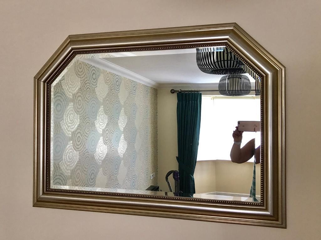 Gold Traditional Vintage Looking Mirror | In Rotherham, South In Vintage Looking Mirror (View 7 of 15)