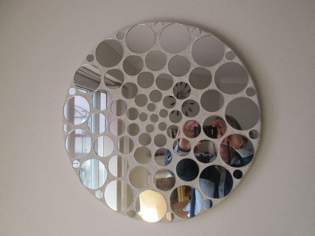 Gorgeous Funky Round Mirror, Little Mirrors All Over – From Regarding Funky Round Mirrors (Image 12 of 20)