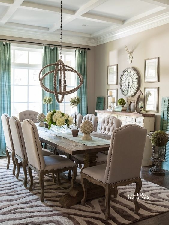 Gorgeous Orb Chandelier Dining Room Dining Room Chandelier With Turquoise Orb Chandeliers (Image 14 of 25)