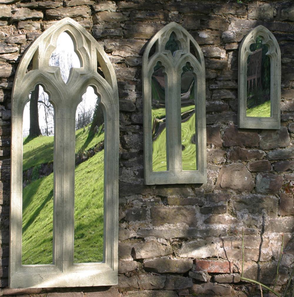 Gothic Outdoor Weatherproof Garden Mirror – Large | Internet Gardener Regarding Large Garden Mirrors (View 19 of 20)