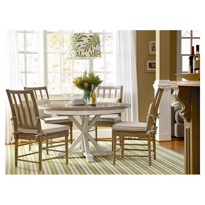 Grafton Extending Round Dining Table & Reviews | Birch Lane Throughout Extendable Round Dining Tables (Image 13 of 20)