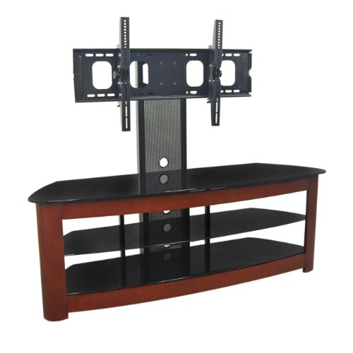 Great Best 65 Inch TV Stands With Integrated Mount Intended For Tv Stands For 55 Inch Tv Walker Edison 60 Inch 4 In 1 Tv Stand (Image 24 of 50)