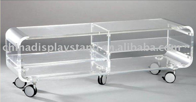 Great Best Acrylic TV Stands Pertaining To Acrylic Tv Standacrylic Tv Table Buy Acrylic Tv Standplexiglas (Image 22 of 50)