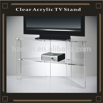 Great Best Acrylic TV Stands Pertaining To Clear Acrylic Tv Stand Buy Clear Perspex Tv Standunique Tv (Image 23 of 50)