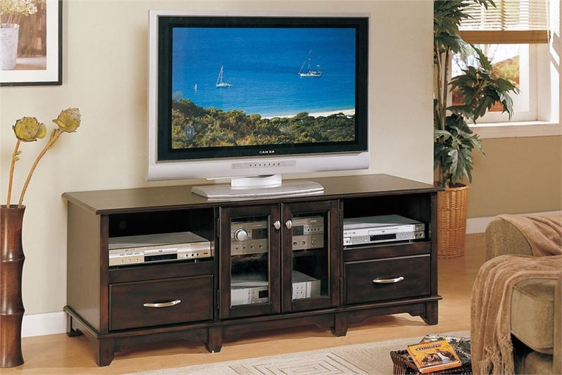 Great Best Dark TV Stands With Dark Brown Tv Stand F (Image 21 of 50)