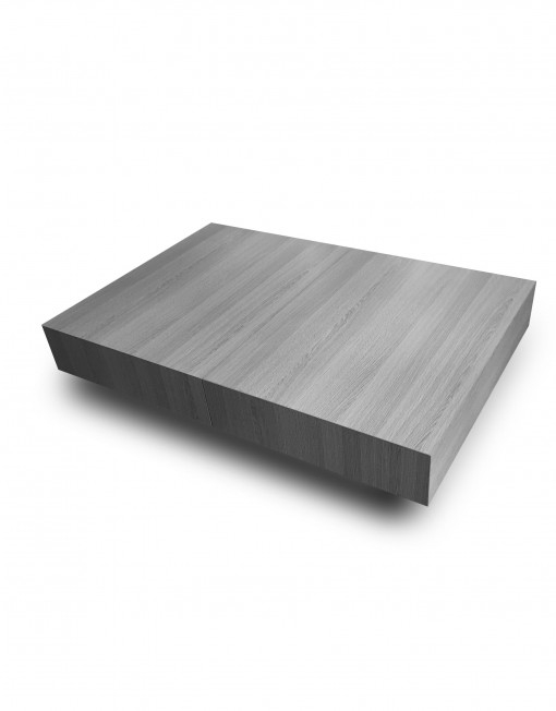 Great Best Grey Wood Coffee Tables Inside Transforming Box Coffee To Dining Table Expand Furniture (Image 21 of 50)