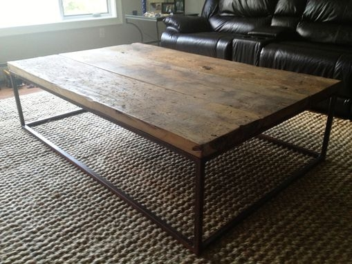 Great Best Industrial Style Coffee Tables Within Hand Crafted Industrial Style Coffee Table Eb Mann (View 2 of 50)