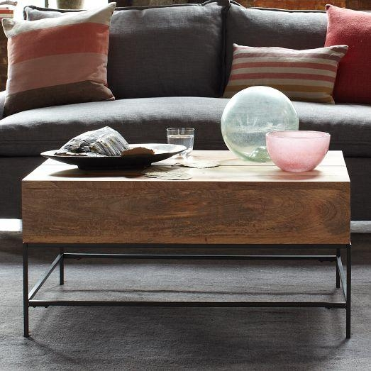 Great Best Mango Wood Coffee Tables Throughout Storage Mango Wood Coffee Table (Image 18 of 50)