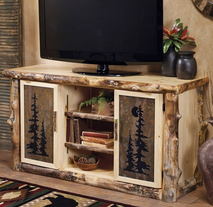 Great Best Rustic TV Stands With Regard To 121 Best Log Furniture Images On Pinterest Log Furniture Rustic (Image 22 of 50)