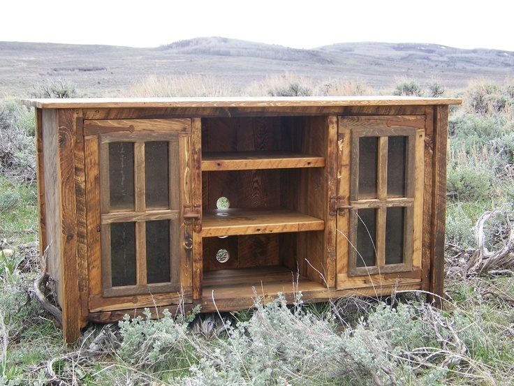 Great Best Rustic Wood TV Cabinets Regarding 25 Best Rustic Tv Stands Ideas On Pinterest Tv Stand Decor (View 36 of 50)