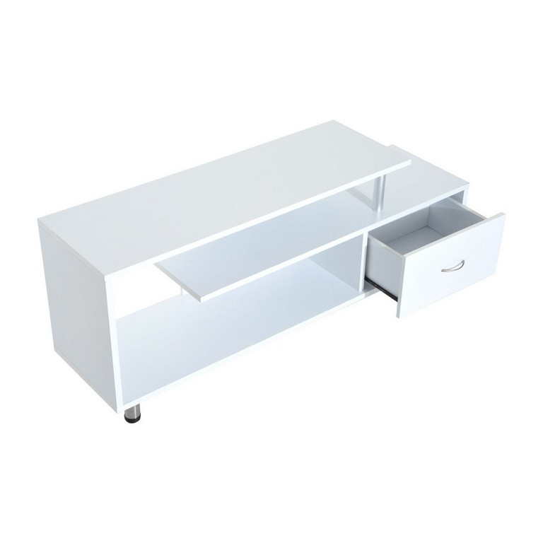 Great Best Small White TV Stands Regarding Furniture Tv Stand For 80 Tv Wall Mount Tv Stand With Shelves (Image 21 of 50)