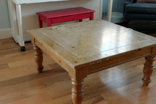Great Best Square Pine Coffee Tables For Broyhill Coffee Table (Image 27 of 50)