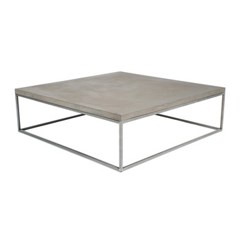 Great Best Square Stone Coffee Tables With Regard To Coffee Tables Modern Contemporary Furniture Amara (Image 15 of 40)